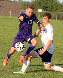 Senior Parker Cates finished out the season strong and was recognized for it as he was named as an honorable mention.